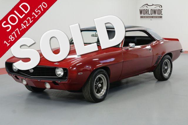 1969 CHEVROLET CAMARO 414CI 500HP 4-SPEED 10 BOLT