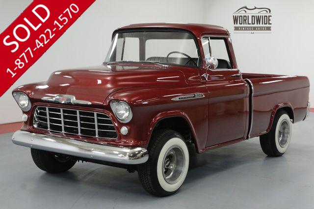 1956 CHEVROLET CAMEO FULLY RESTORED. BIG WINDOW V8. 4-SPEED.