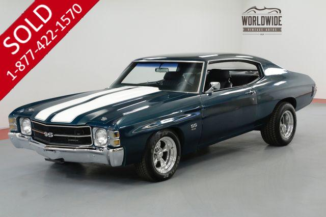 1971 CHEVROLET CHEVELLE BIG BLOCK 454 V8 700R4 A/C MUST SEE