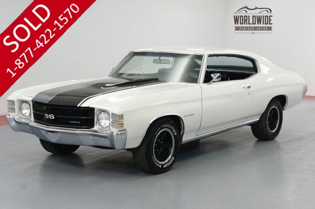 1971 CHEVROLET CHEVELLE RARE. RESTORED. V8! AC CAR! AUTO! MALIBU!