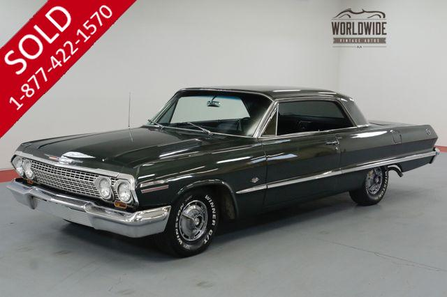 1963 CHEVROLET IMPALA SS TRUE SS! 327V8. AUTO. PS PB A/C! MUST SEE!