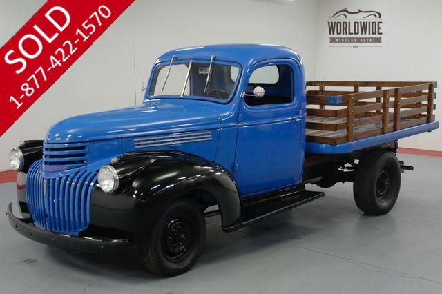 1946 CHEVROLET STAKEBED 216 4 SPEED CLASSIC!