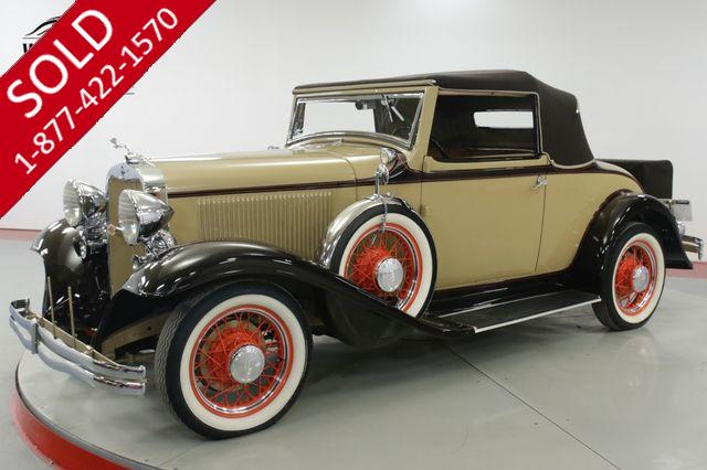 1932 DODGE  CABRIOLET  ONLY 224 MADE