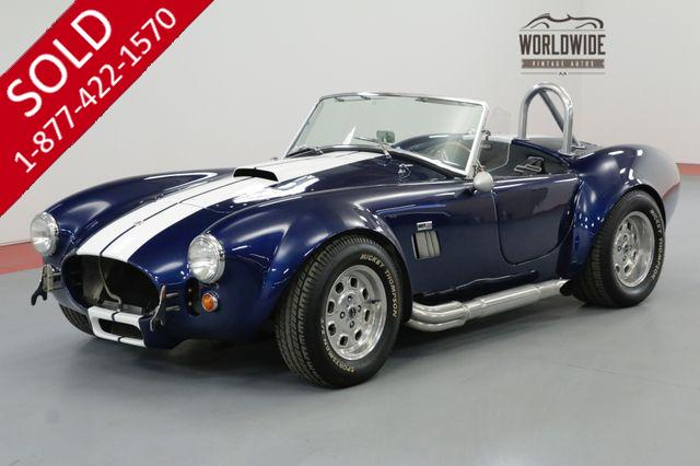 1965 FACTORY FIVE COBRA 302V8 MANUAL. LOADED WITH OPTIONS SHOW OR GO
