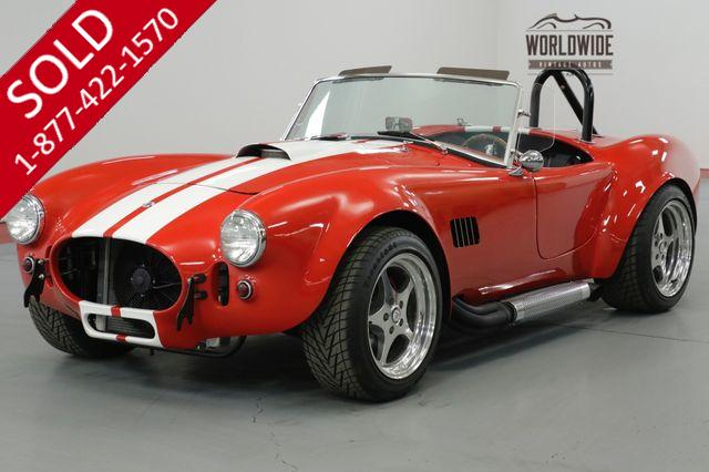 1966 FACTORY FIVE COBRA  V8! 4-SPEED! 850 MILES ON THE BUILD!