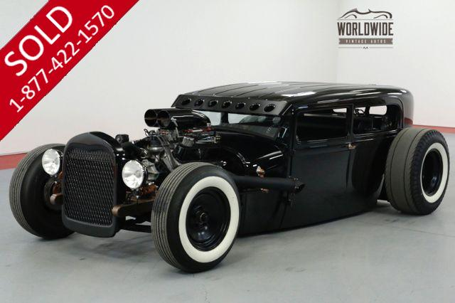 1929 FORD 2 DOOR CUSTOM