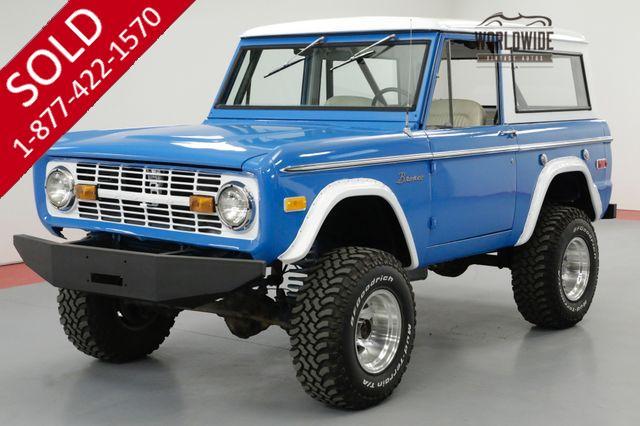 1974 FORD BRONCO 302V8 AUTOMATIC 4X4
