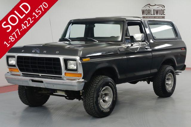 1970 FORD BRONCO UNCUT. FUEL INJECTED!  4x4 CONVERTIBLE PB