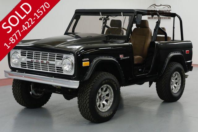 1973 FORD BRONCO WAIT FRAME OFF RESTORED. LIFT. AUTO. PB. 4x4!