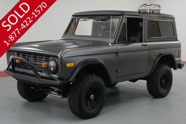 1977 FORD BRONCO RESTORED PS 4 WHEEL DISC EFI $70K+ BUILD