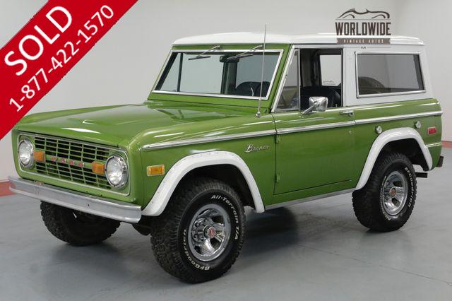 1973 FORD BRONCO 4x4 302 V8 AUTO DRY NEW MEXICO! PS.