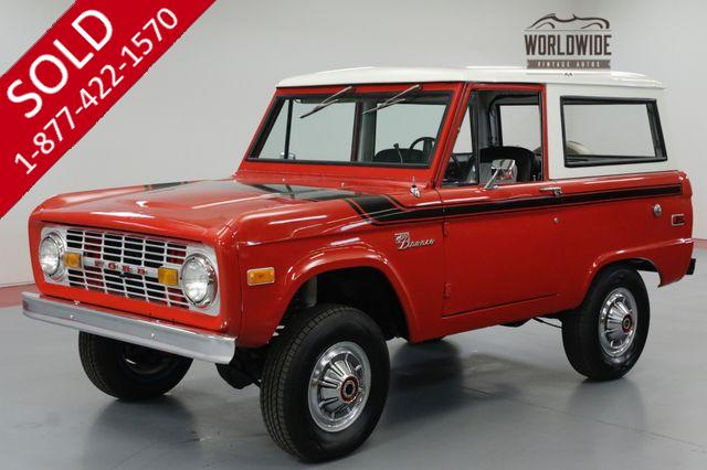 1975 FORD BRONCO  RESTORED! UNCUT BRONCO. 302 V8! PS. PB.