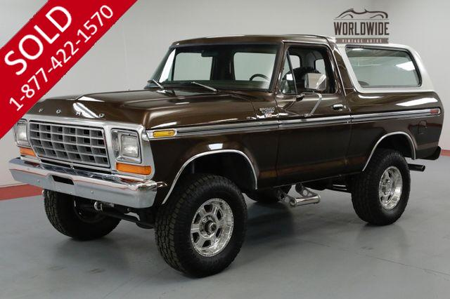 1978 FORD BRONCO  400 AUTO EFI NEW OPEN COUNTRY TIRES 285'S