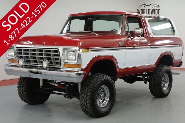 1978 FORD BRONCO 351V8 AUTOMATIC 4X4 LIFTED EXCELLENT COLOR