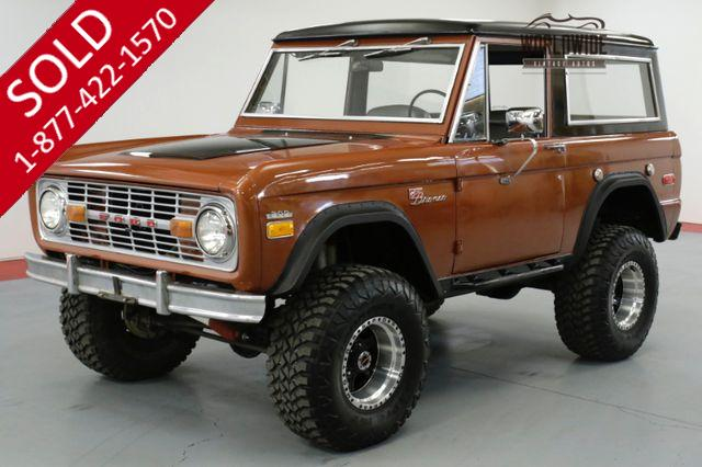 1970 FORD  BRONCO SPORT RESTORED CUSTOM PS 5 SPEED. 302 V8.