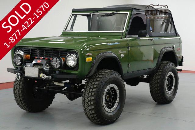 1973 FORD BRONCO RESTORED. HIGH DOLLAR BUILD. 408 STOKER. PS.