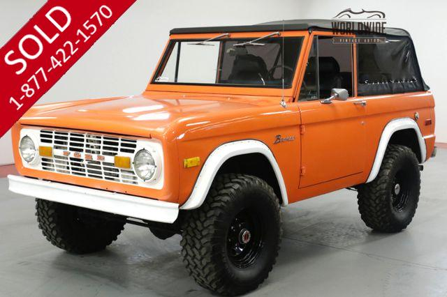 1973 FORD BRONCO EXPLORER, PS, PB, BUILT 302 V8, 4X4