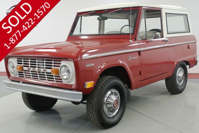 1969 FORD  BRONCO  SURVIVOR UNCUT 302 V8 REMOVABLE HARDTOP 4x4