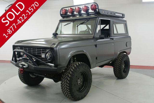 1971 FORD  BRONCO  $200K+ BUILD SEMA COYOTE 5.0L AC UNCUT (VIP)