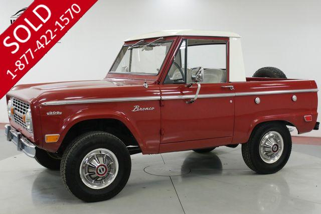 1969 FORD  BRONCO  UNCUT V8 HALF CAB COLLECTOR 4x4 MUST SEE