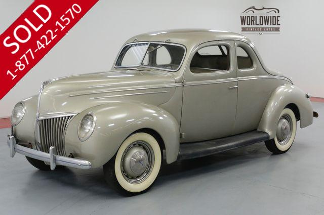1939 FORD DELUXE COUPE. FLATHEAD V8! 94K MILES. GORGEOUS!