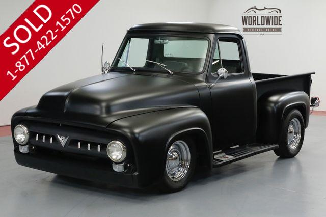 1955 FORD F100 RESTORED STREET ROD. BUILT 355 V8! 700R4 AUTO