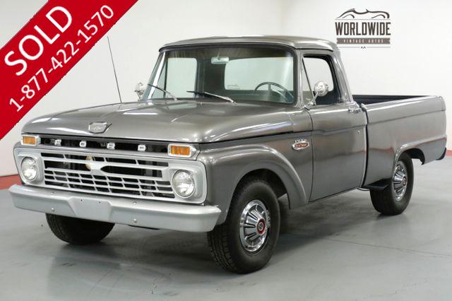 1966 FORD F100 FRAME OFF RESTORED. SHOW WINNER. UNCUT!