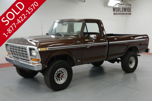 1977 FORD F250 FACTORY HIGHBOY. BRAND NEW 400 ENGINE.