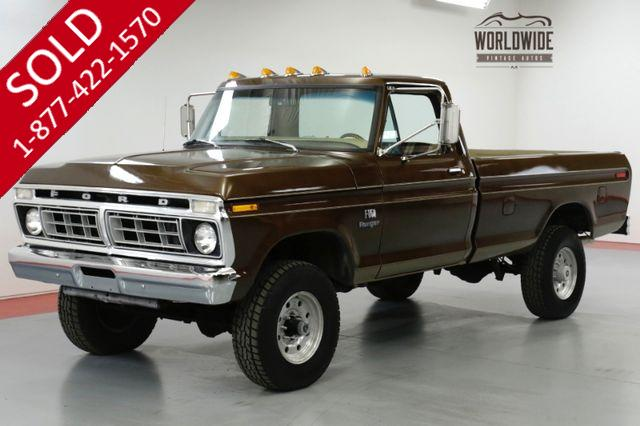 1975 FORD F250 HIGH BOY FRAME OFF RESTORED 4x4 V8 COLLECTOR
