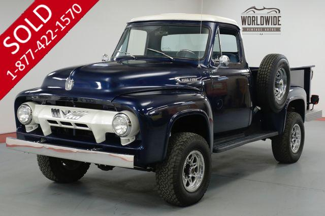 1954 FORD  F250 TPI FI 350 V8. AUTOMATIC. 3/4 TON AXLES. 4X4