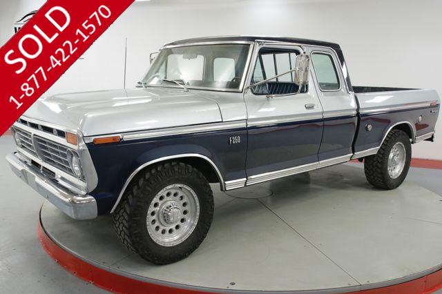 1975 FORD  F250  RARE SUPERCAB SHORT BED AC PS PB AZ TRUCK