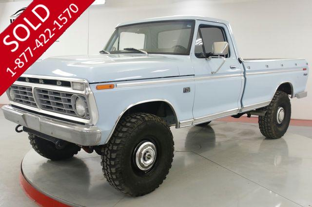 1973 FORD  F250  HIGHBOY RESTORED V8 4x4 PS PB LOW MILES