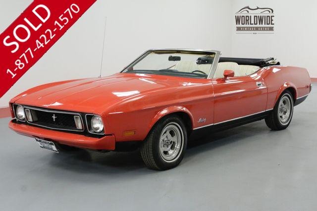 1973 FORD MUSTANG CONVERTIBLE 351 CLEVELAND AUTOMATIC MUST SEE