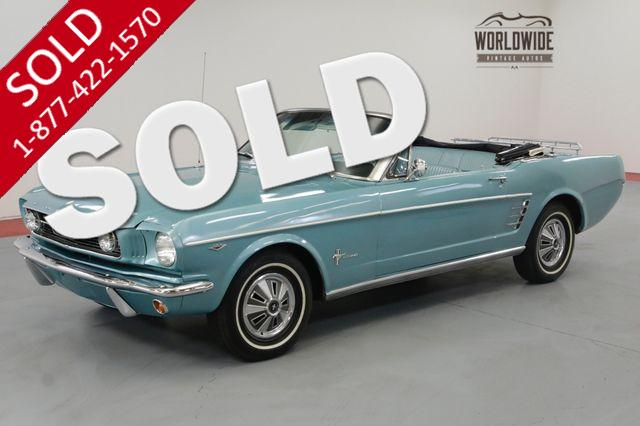 1966 FORD MUSTANG 289V8 AUTO