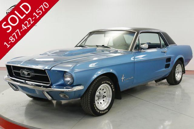 1967 FORD  MUSTANG  V8 UPGRADES  DUAL EXHAUST MUST SEE
