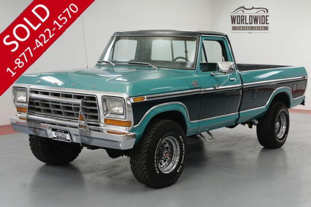 1978 FORD Ranger F250 XLT 460V8! C6 AUTOMATIC. A/C! POWER WINDOWS.