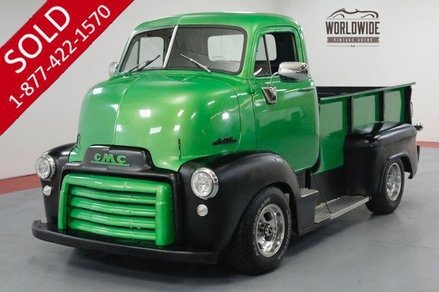 1949 GMC COE  CABOVER. RESTORED CUSTOM 4x4 DOLPHIN GAUGES.
