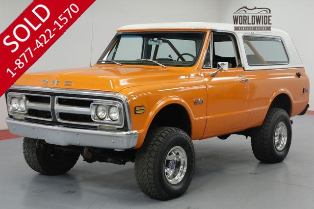 1972 GMC JIMMY 4x4. 350 V8. AUTO. CONVERTIBLE. PS. PB.