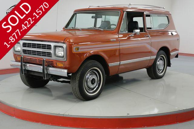 1980 INTERNATIONAL  SCOUT II   RARE TURBO DIESEL TIME CAPSULE 32K MILES