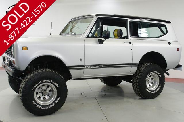 1977 INTERNATIONAL  SCOUT II   345 V8 AUTO LIFTED 35 INCH TIRES OX LOCKERS