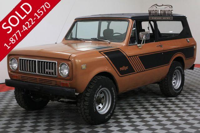 1977 INTERNATIONAL SCOUT II RESTORED 345 V8 4X4 AZ TRUCK PS PB