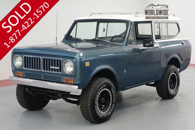 1973 INTERNATIONAL SCOUT RESTORED! V8! AUTO! 4X4! MECHANICALLY NEW!
