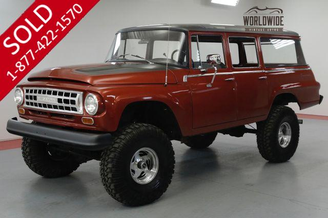 1964 INTERNATIONAL TRAVELALL RESTORED! 350V8. 4X4! LIFTED.