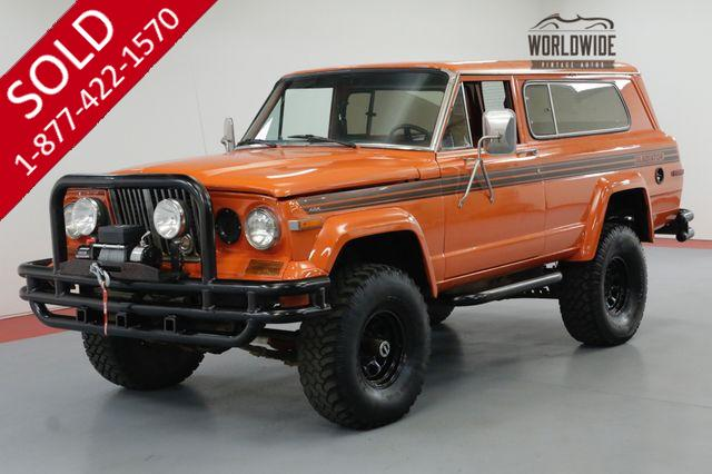 1983 JEEP CHEROKEE CHIEF GLADIATOR CUSTOM 454 V8 AUTO ARB