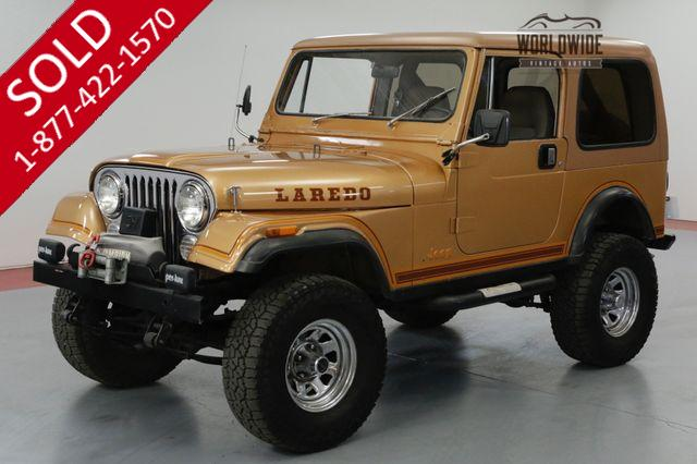 1984 Jeep CJ 4WD FACTORY 6 CYLINDER. 5-SPEED MANUAL. 4X4.