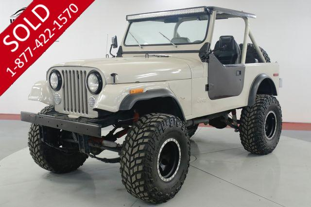 1979 JEEP CJ 7 304 V8 4x4 PS PB BRAND NEW WHEELS / TIRES