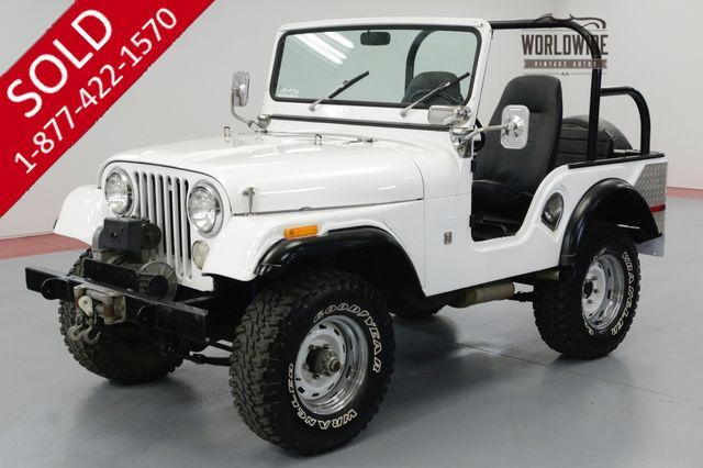 1971 JEEP CJ5 FRAME OFF RESTORED! 6K MILES! OVERDRIVE.