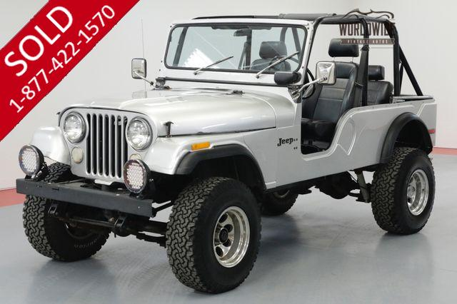 1972 JEEP CJ6 RARE RESTORED 57K V8