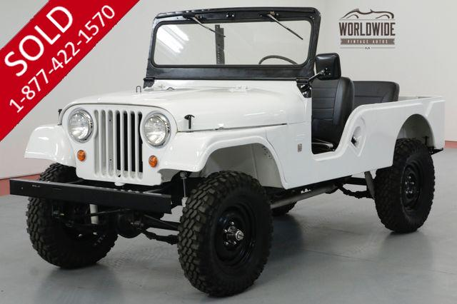 1967 JEEP CJ6 RARE. FRAME OFF RESTORED 4X4 CONVERTIBLE.