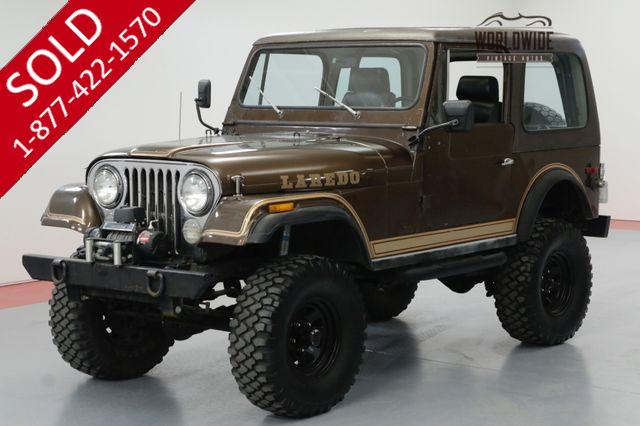 1980 JEEP CJ7 LAREDO 350V8 700R4 AUTO 4X4 4-WHEEL DISC